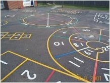 School Playground Markings In The Uk